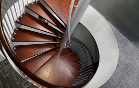 Sprial Staircase to Level 5